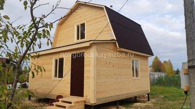 Строительство загородного дома 6х6