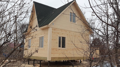 Строительство дома под ключ 6х6