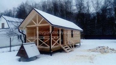 Строительство бани в Ступинском районе, Московской области