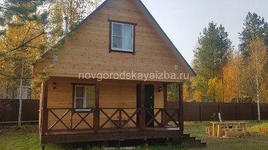 Дом 6х6 в Архангельской области