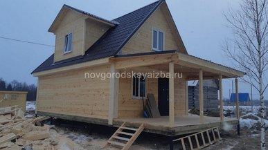 Строительство загородного дома в Архангельской области