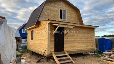 Загородный дом 6х6 в Архангельской области