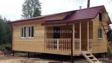 Дом 8х5 в Ленинградской области