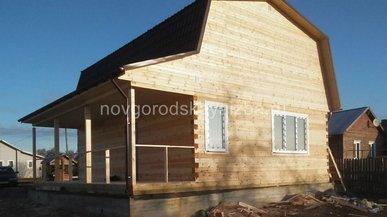 Строительство дачного дома в Ивановской области