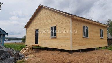 Строительство каркасного дома 8х10
