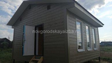 Каркасный одноэтажный дом 6х6 в Московской области