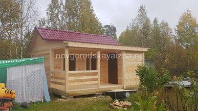 Строительство дачного дома 6х6