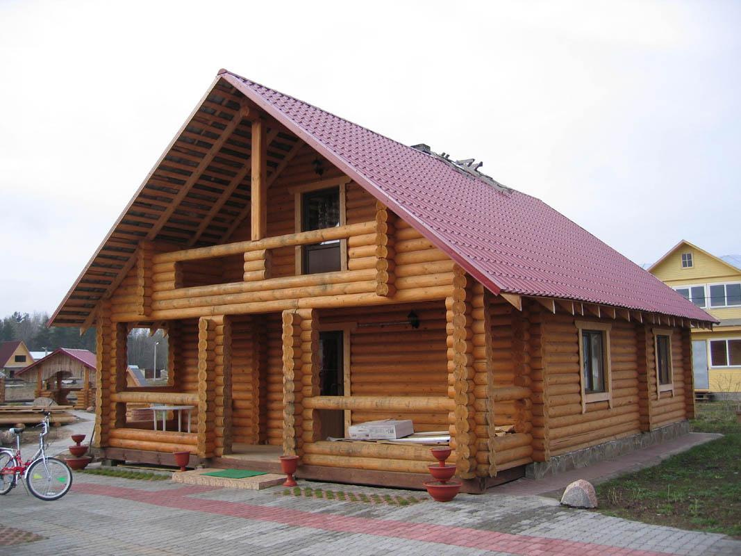 Пользу хозяевам деревянные дома